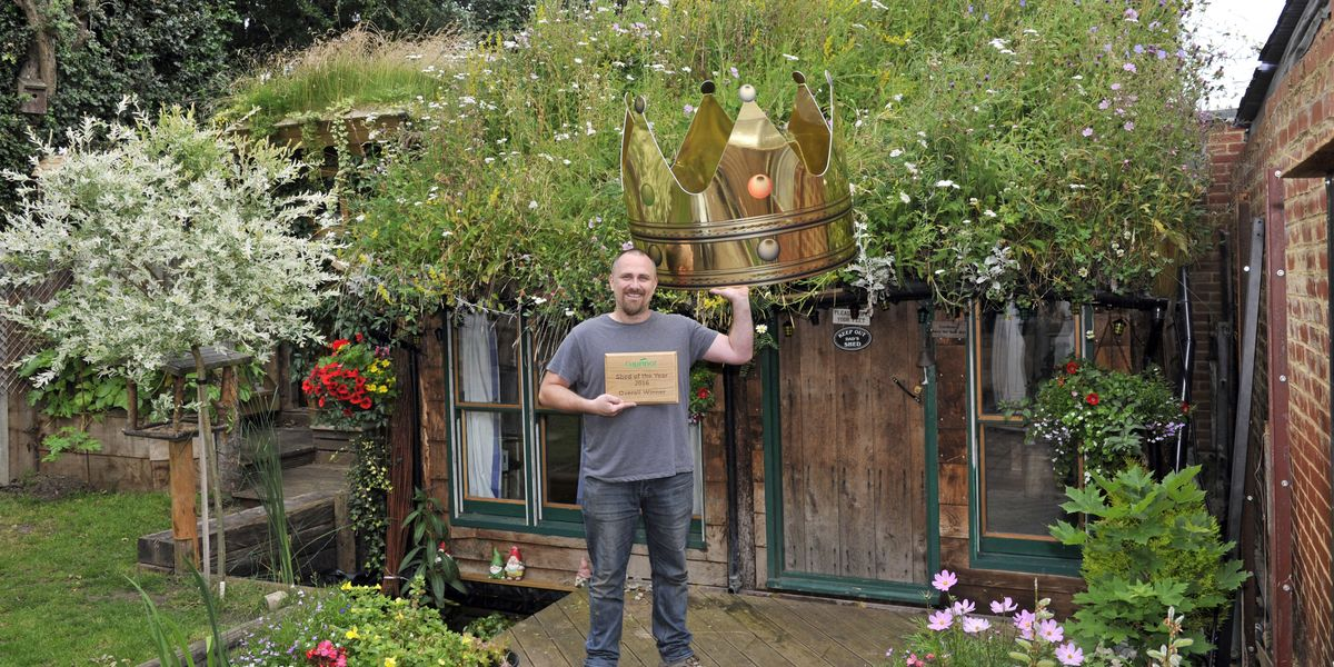 Shed Of The Year 2016 West Wing Owned By Kevin Herbert