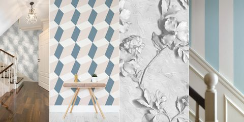 16 Hallway Wallpaper Designs For Your Home Hallway