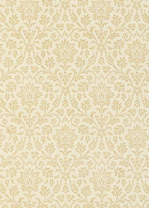 Annecy gold wallpaper, Laura Ashley