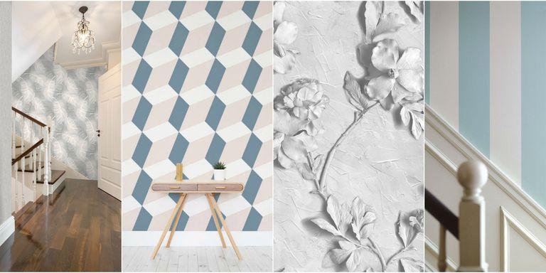 16 hallway decoration ideas using wallpaper ppazfo