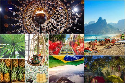 Rio inspired collage - Rio de Janeiro, Brazil