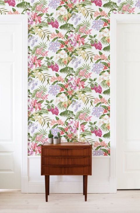 Photowall floral wallpaper