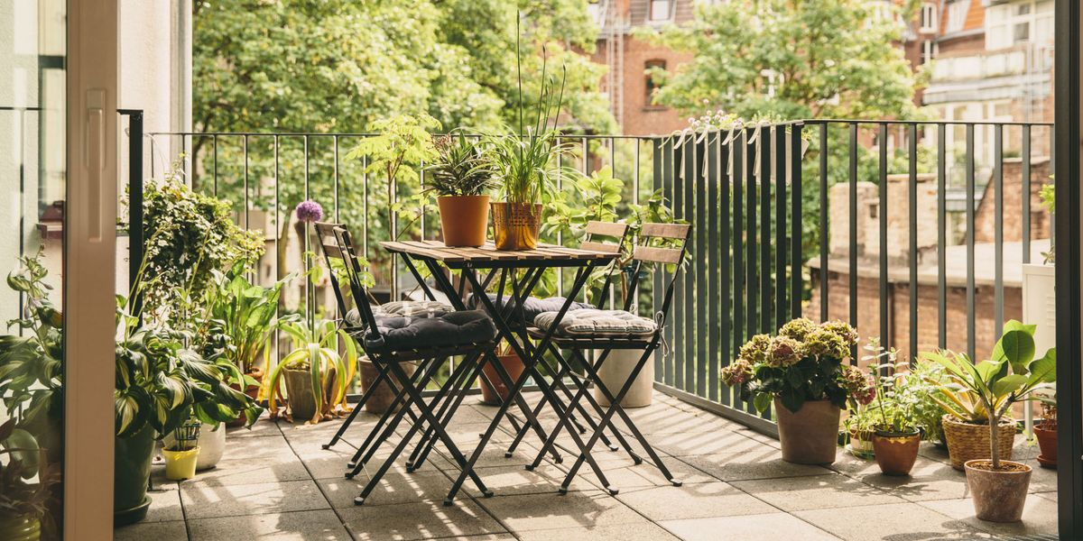 Balcony Garden Ideas Plants Furniture And Affordable