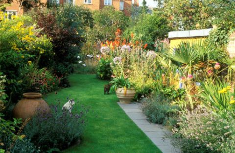 How To Give Your Long And Narrow Garden The Wow Factor All