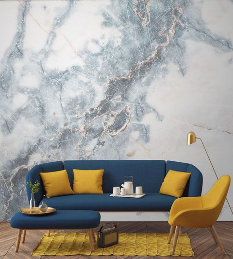 Murals Wallpaper Marble Wall Mural