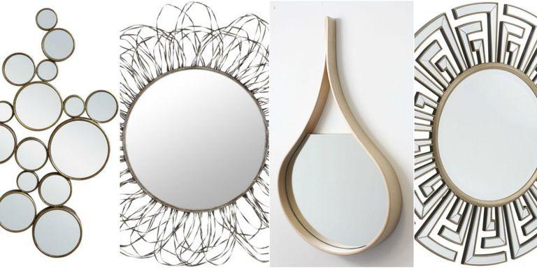 10 fabulous statement wall mirrors for Statement wall decor