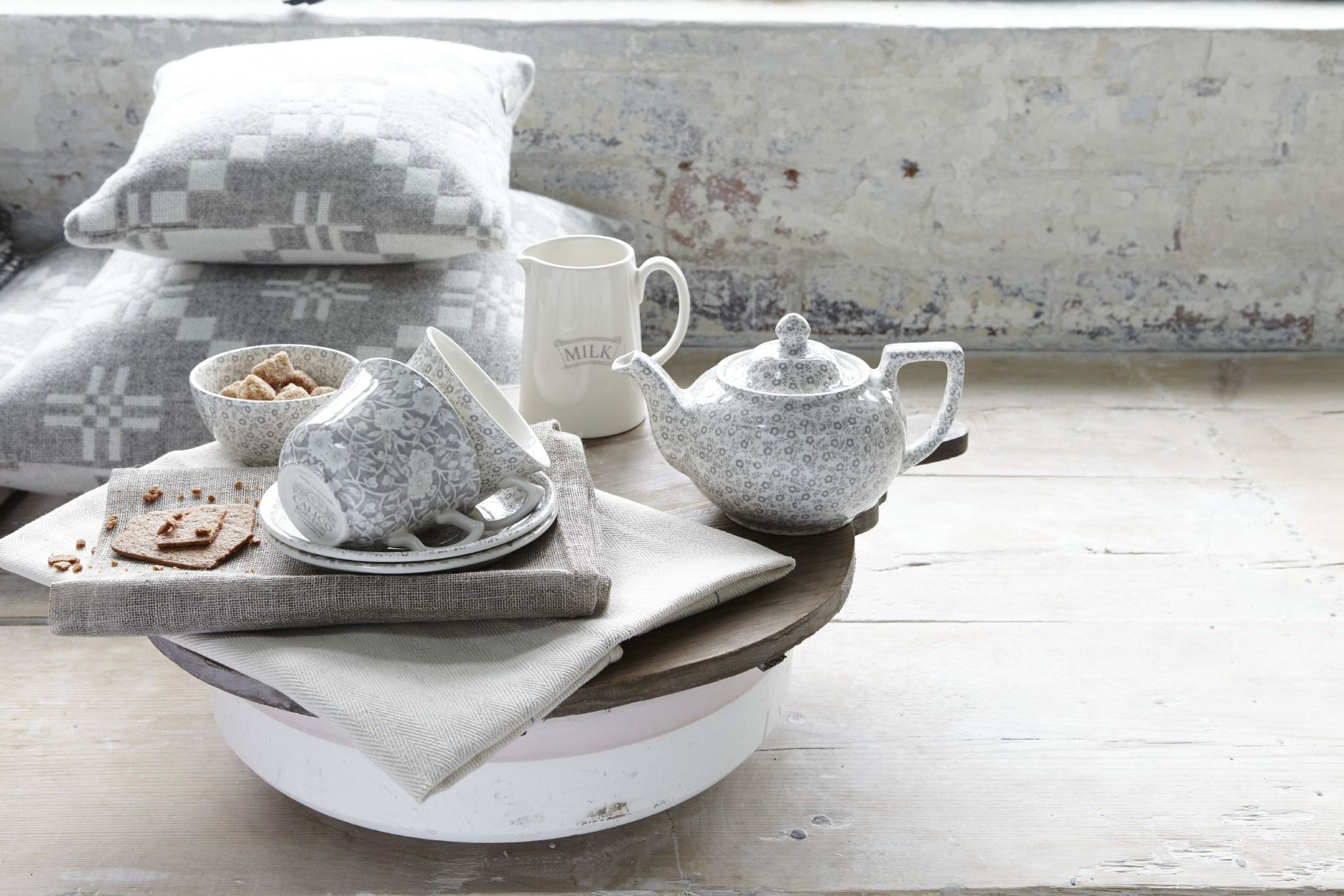 Burleigh ware new Dove Grey collection & HB Loves... Burleighu0027s Calico Felicity and Pantry patterns launch ...