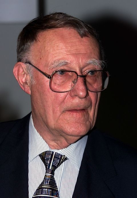 """<p>In <a href=""""http://www.ikea.com/ms/en_AU/about_ikea/the_ikea_way/history/1940_1950.html"""">1943</a>, 17-year-old Ingvar Kamprad received money as a gift from his father for doing well in school<span class=""""redactor-invisible-space"""">, which he used to start a business called (you guessed it) IKEA.<span class=""""redactor-invisible-space""""> He sold </span>pens, wallets, picture frames, table runners, watches, jewelery and nylon stockings. Furniture wasn't a part of the plan until 1948 — but talk about money well-invested.</span></p>"""