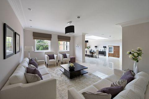 Beautiful family lounge