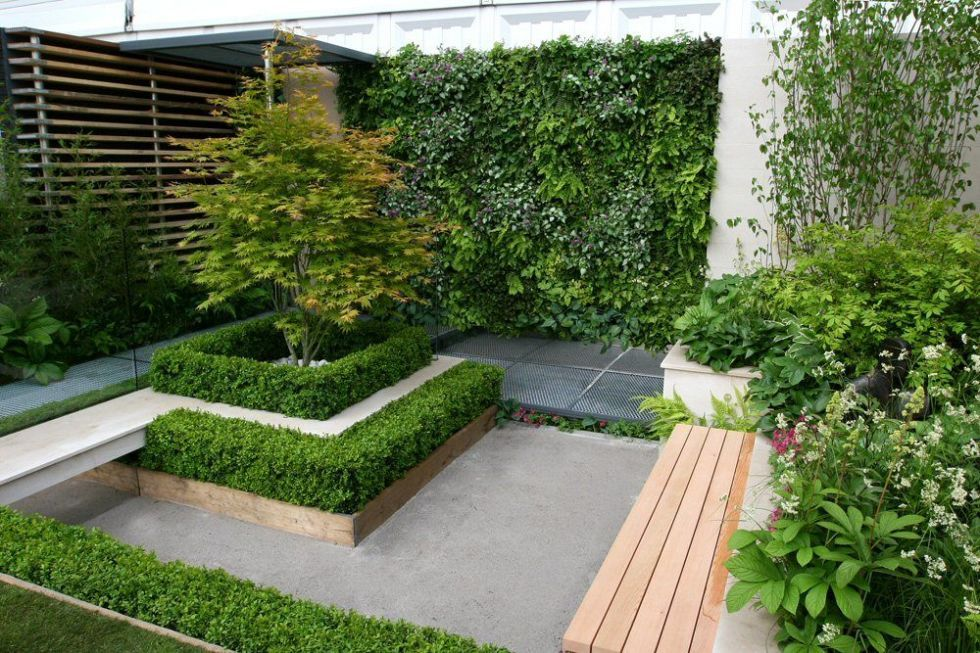 Living, Green And Vertical Walls