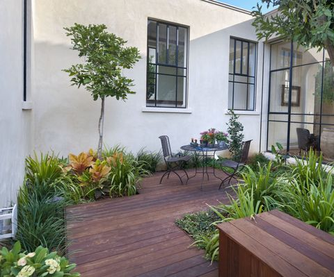 Courtyard gardens how to get the wow factor all year round for Shady courtyard garden design