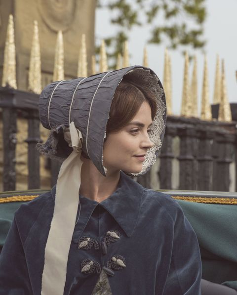 ITV period drama Victoria - lead role played by actress Jenna Coleman