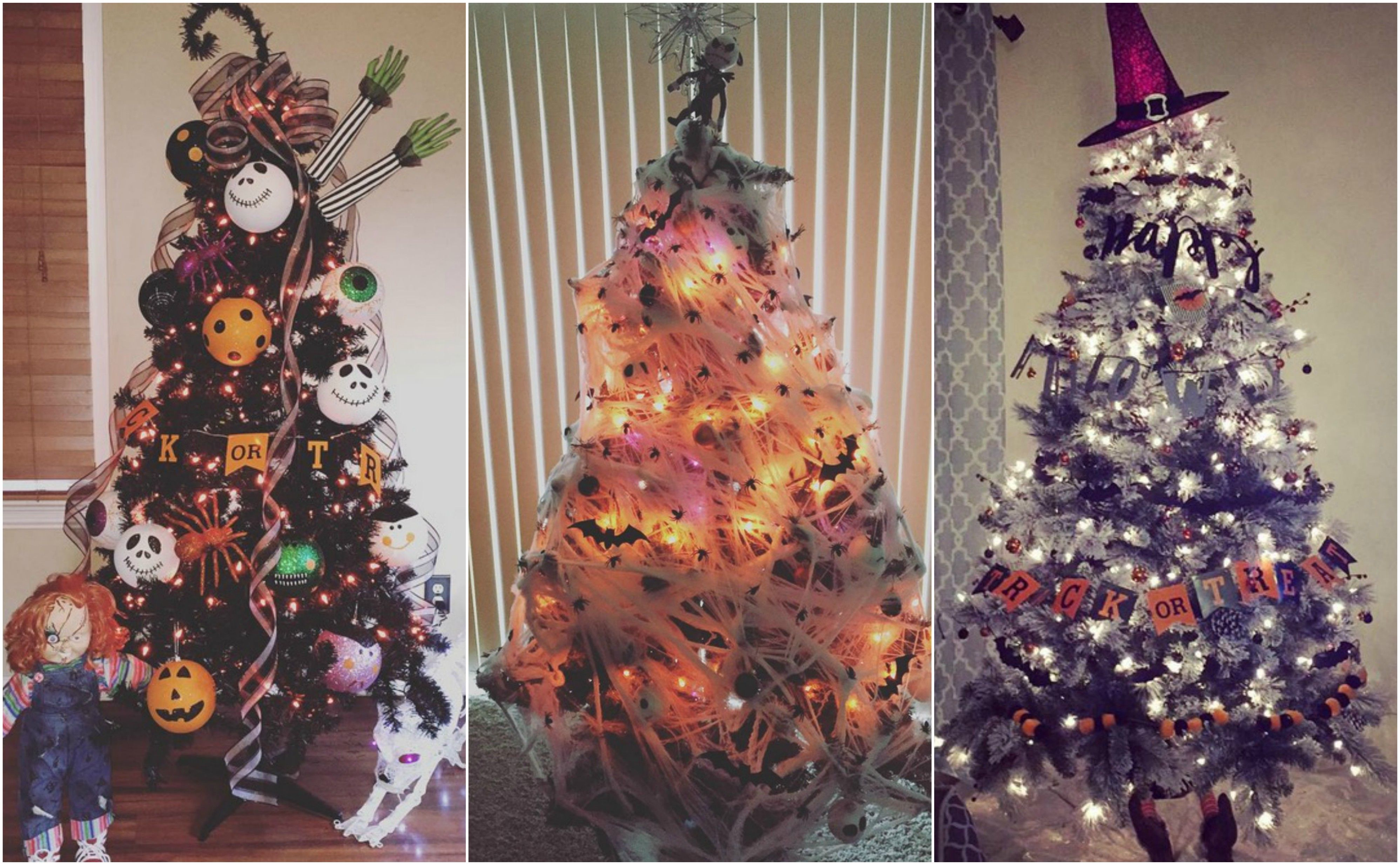 Halloween Christmas Tree.Halloween Christmas Tree Ideas
