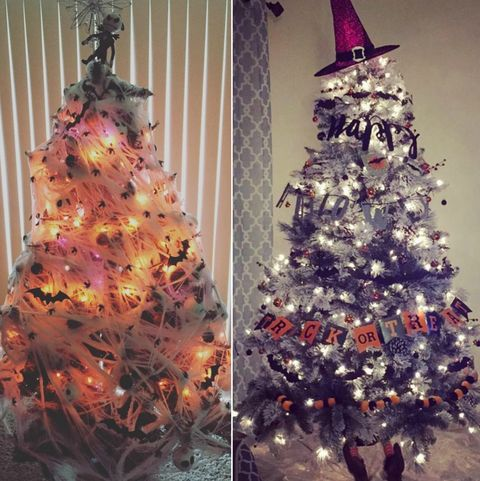 Christmas Trees Images.Halloween Christmas Tree Ideas