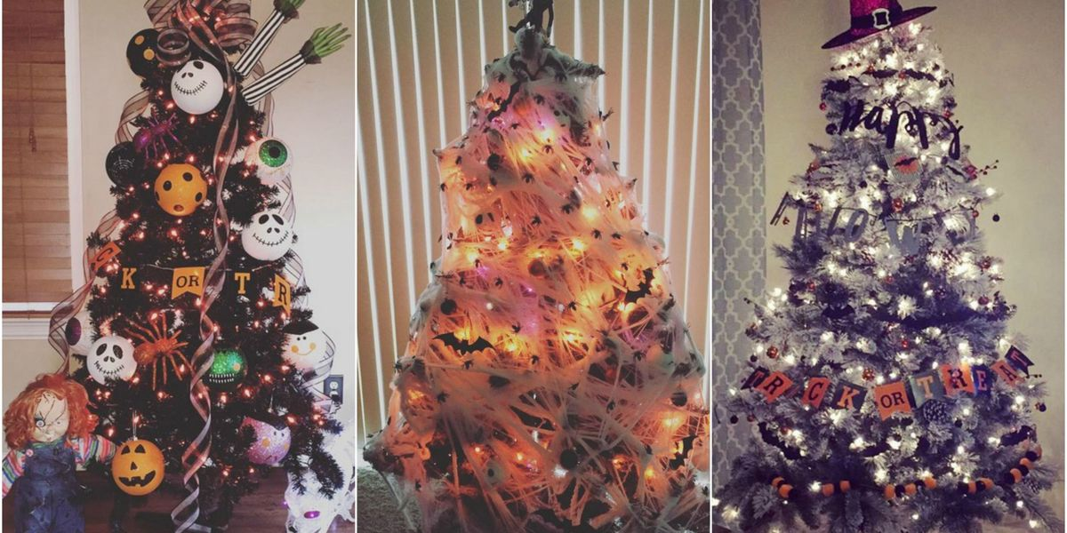 halloween christmas tree ideas - Halloween Christmas Decorations