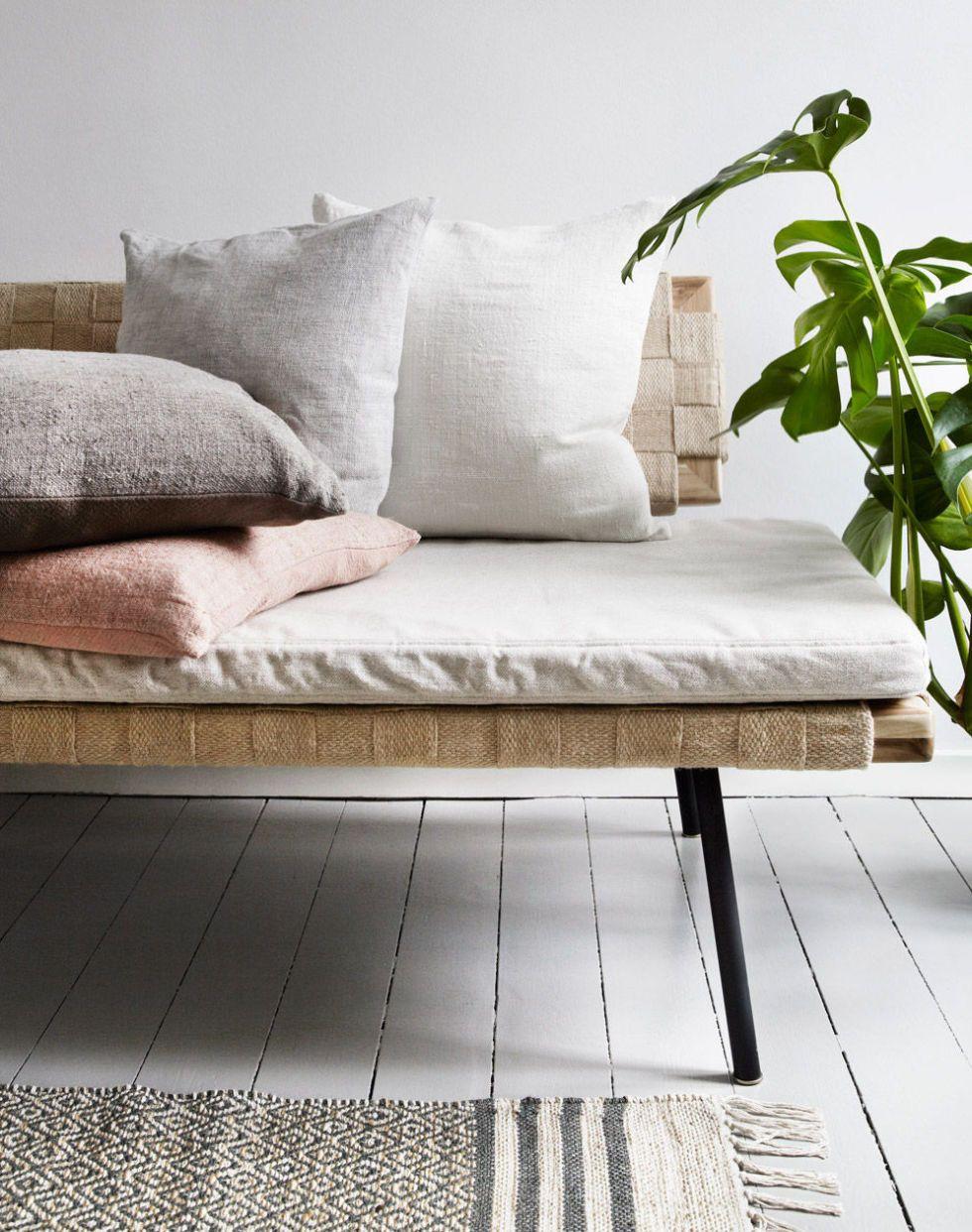 50/50 Cushion   Ivory By Cozy Living, [hoo Gah] Scandinavian