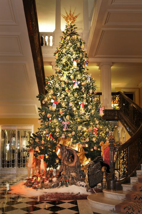 claridges hotel christmas tree designs over the years - Christmas Tree Designs