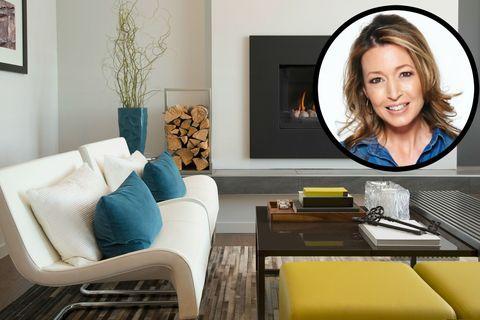 Contemporary living room + Julia Kendell profile