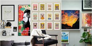Gallery wall collage - Artfinder