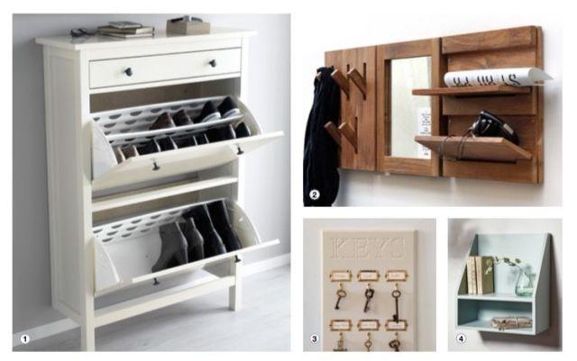 Declutter Hallway Storage Ideas