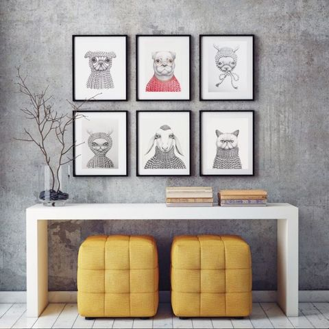 8 steps to creating a gallery wall