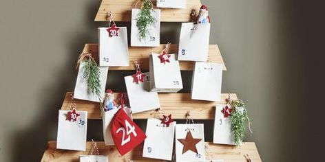 how to build a wooden advent calendar