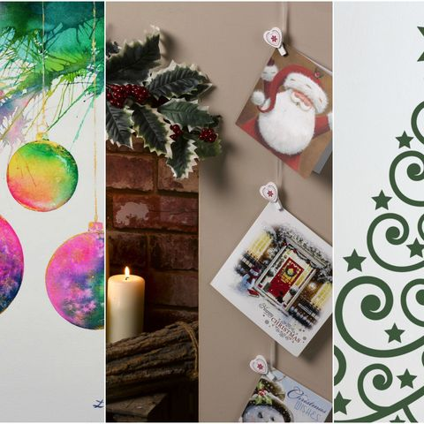 christmas wall hanging decorations - Christmas Wall Hanging Decorations