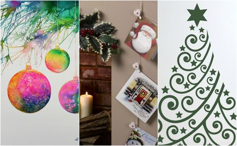 Julia kendells top tips: 3 ways to decorate your walls this christmas