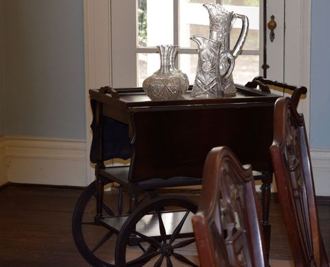Antiques On Table