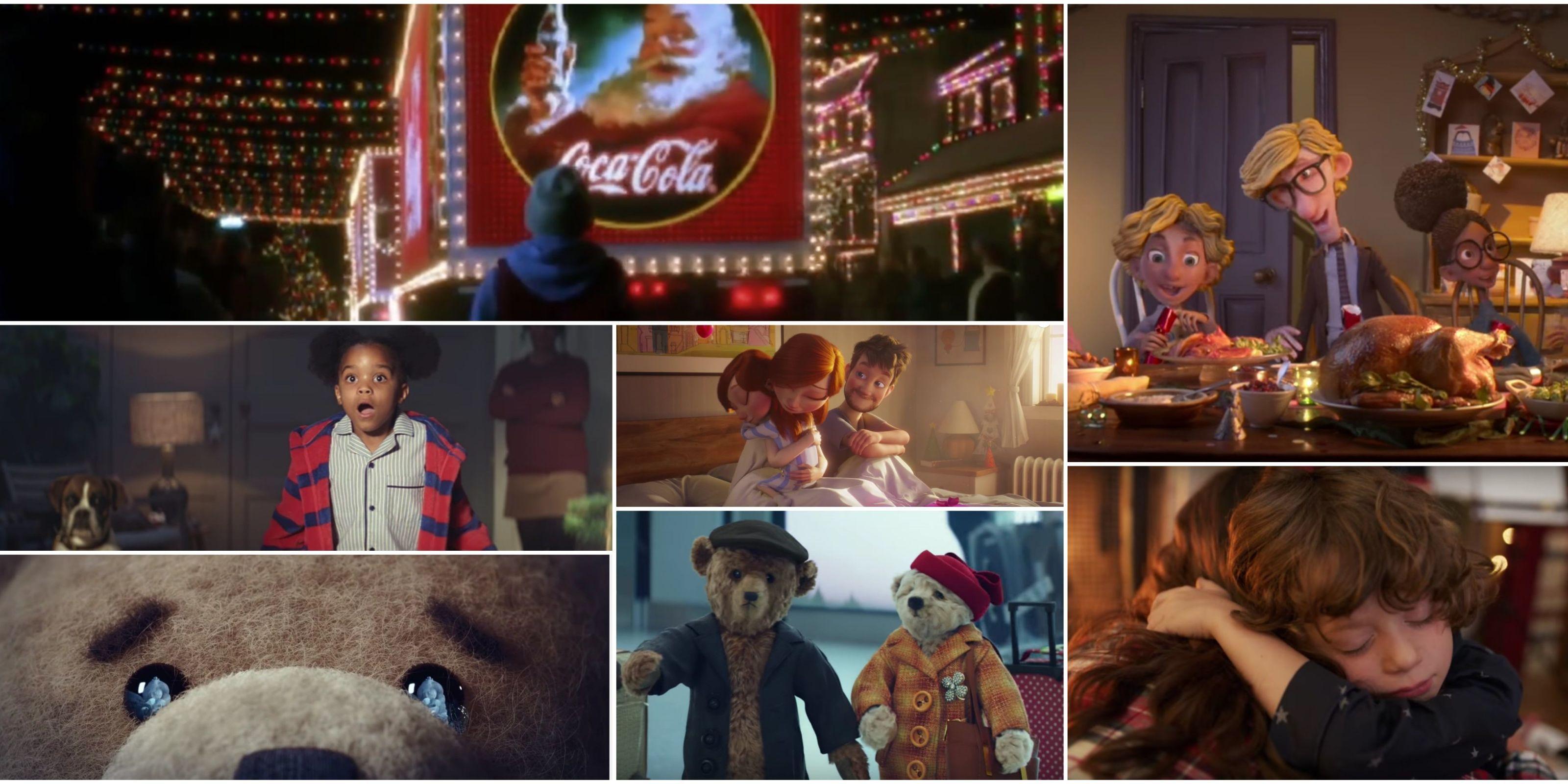 Christmas adverts round,up 2016 Coca,Cola, John Lewis, M\u0026S