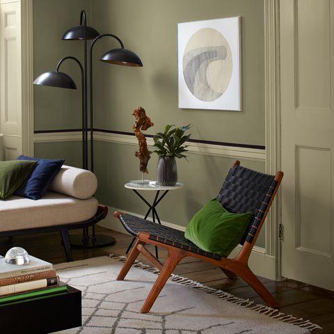 Dulux Heritage paint - Hero Landscape - Living Room Furnishings