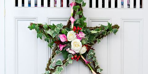 vintage christmas tree wreath - How To Make A Christmas Wreath