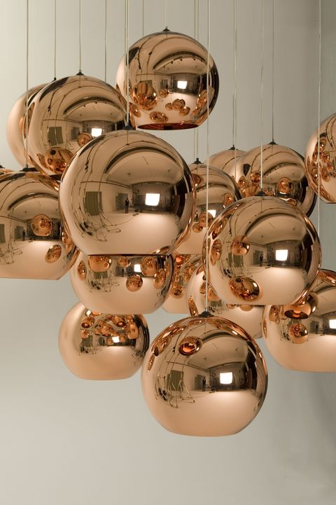 Copper shade - Tom Dixon, Rume
