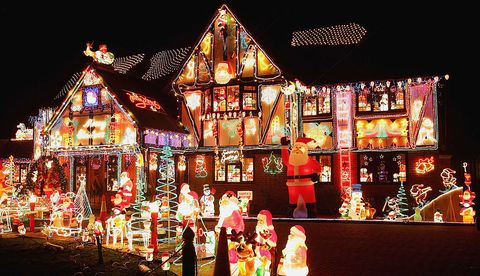 Christmas House Decoration.The Most Extravagant Christmas House Lights From All Over