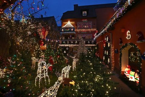 house christmas lights germany