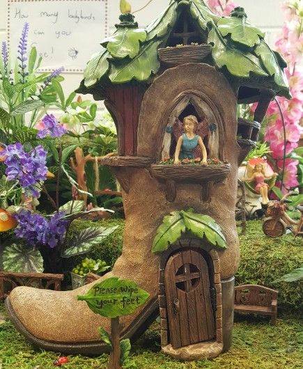 Fairy Garden: Fairy Boot House