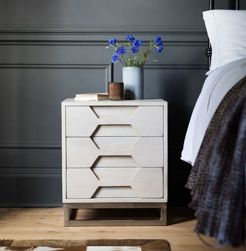 Hex Bedside Cabinet, Atkin and Thyme