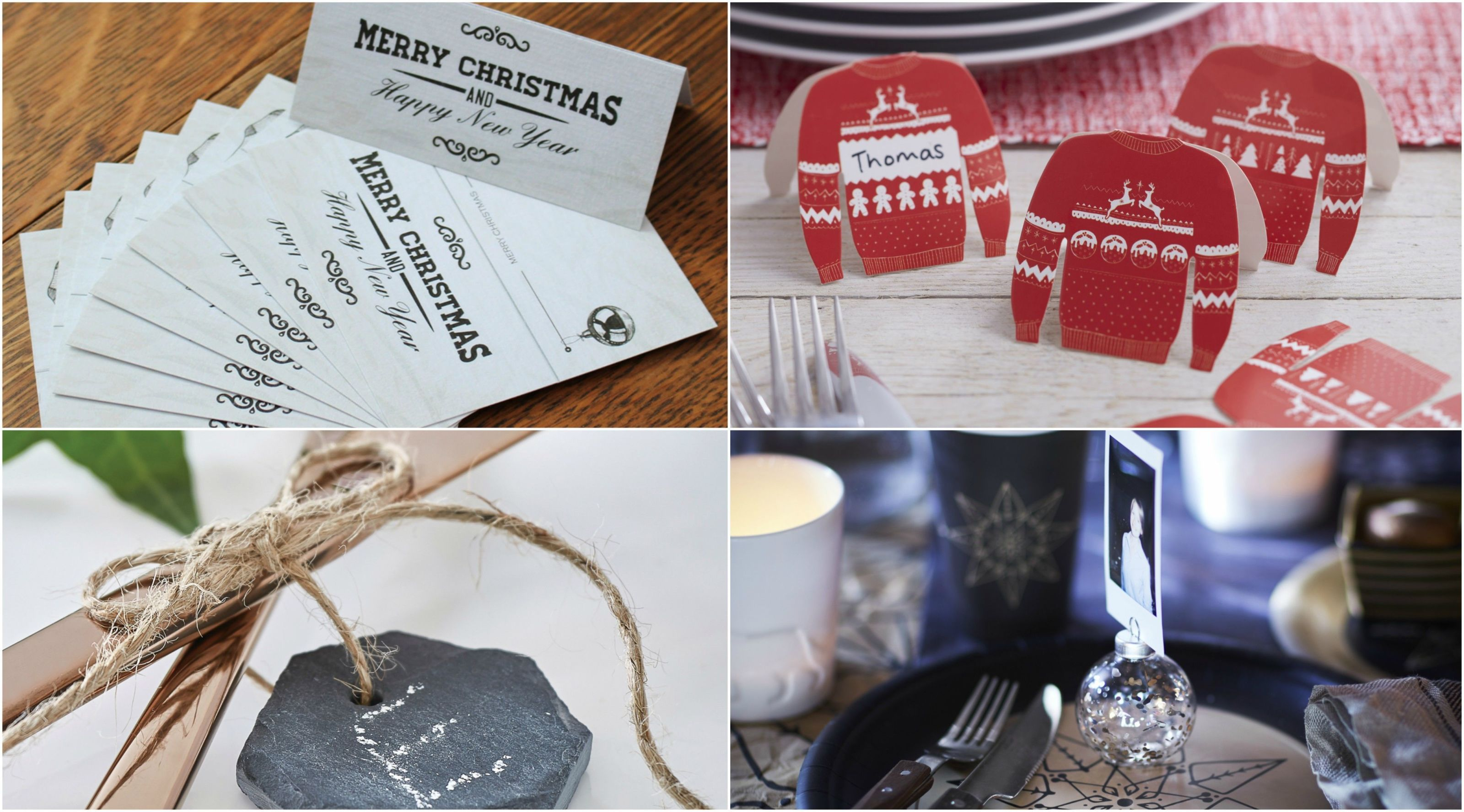 Christmas Table Place Setting Ideas Gallery