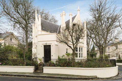 Gothic villa style house, Park Village West