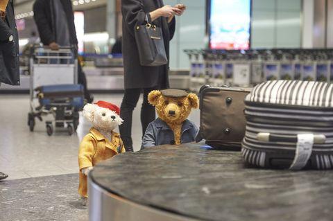 Heathrow Airport Christmas bears Doris