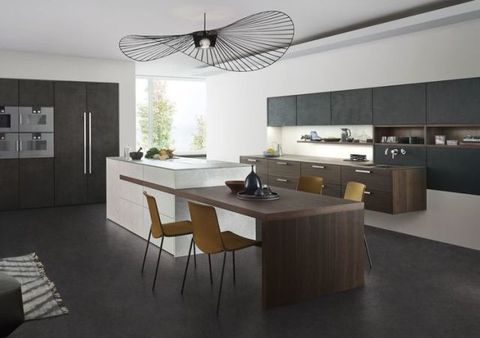 Why Concrete Is Making An Impact In Kitchen Design Fascinating Family Kitchen Design