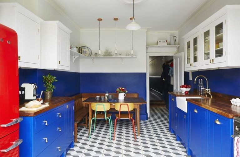 Pinterest inspiration, eBay bargains and 3D tiles helped to ...