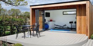Gym garden room