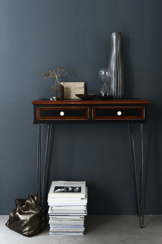 Vintage Bookcase / Console Table   Upcycling Project