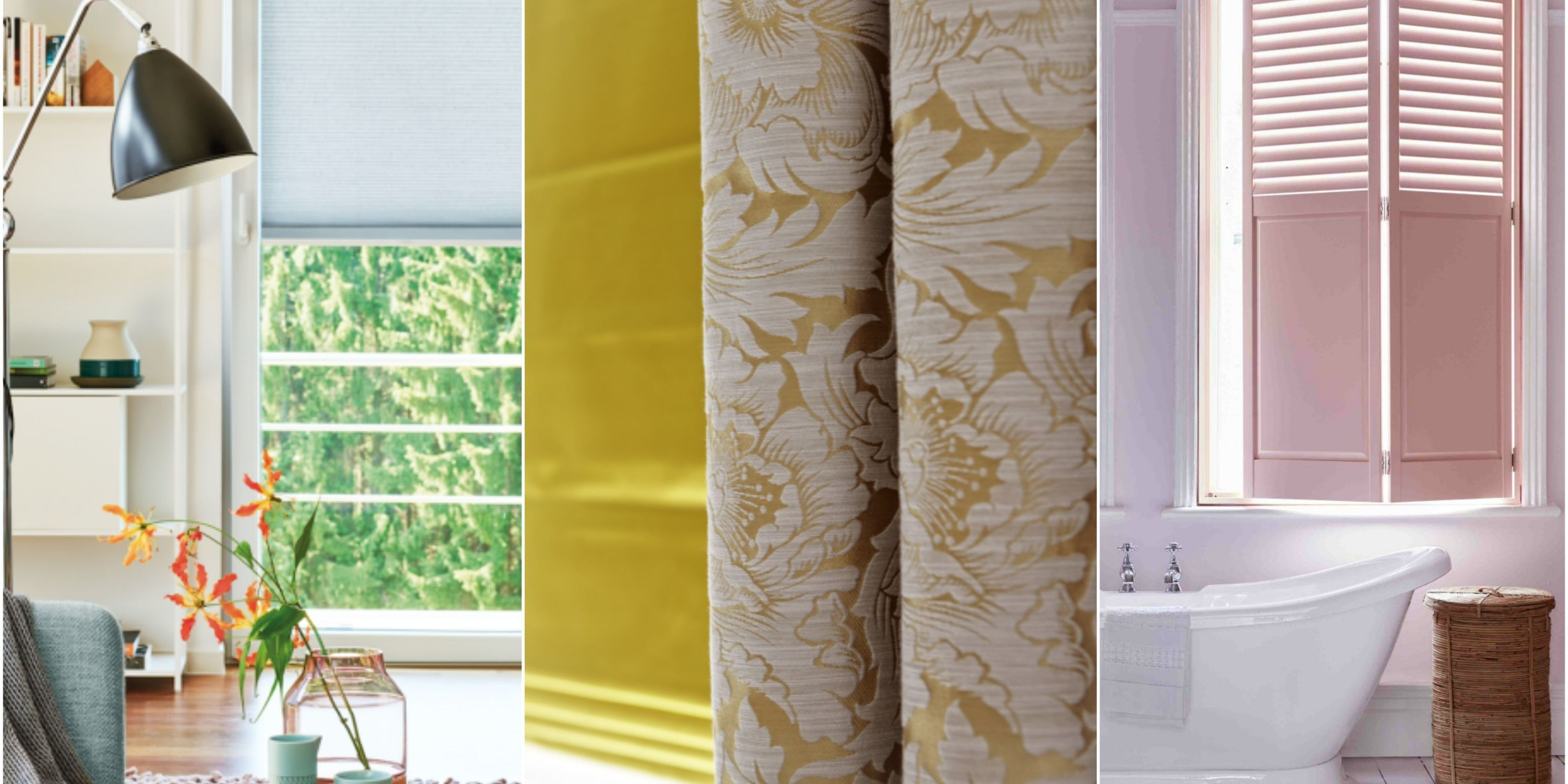 20 window dressing trends for 2017 blinds curtains and shutters & 20 colour and interior window trends for 2017: blinds curtains and ...