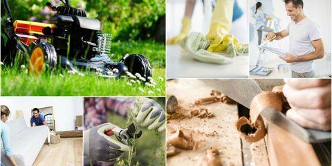 Home improvement and DIY jobs