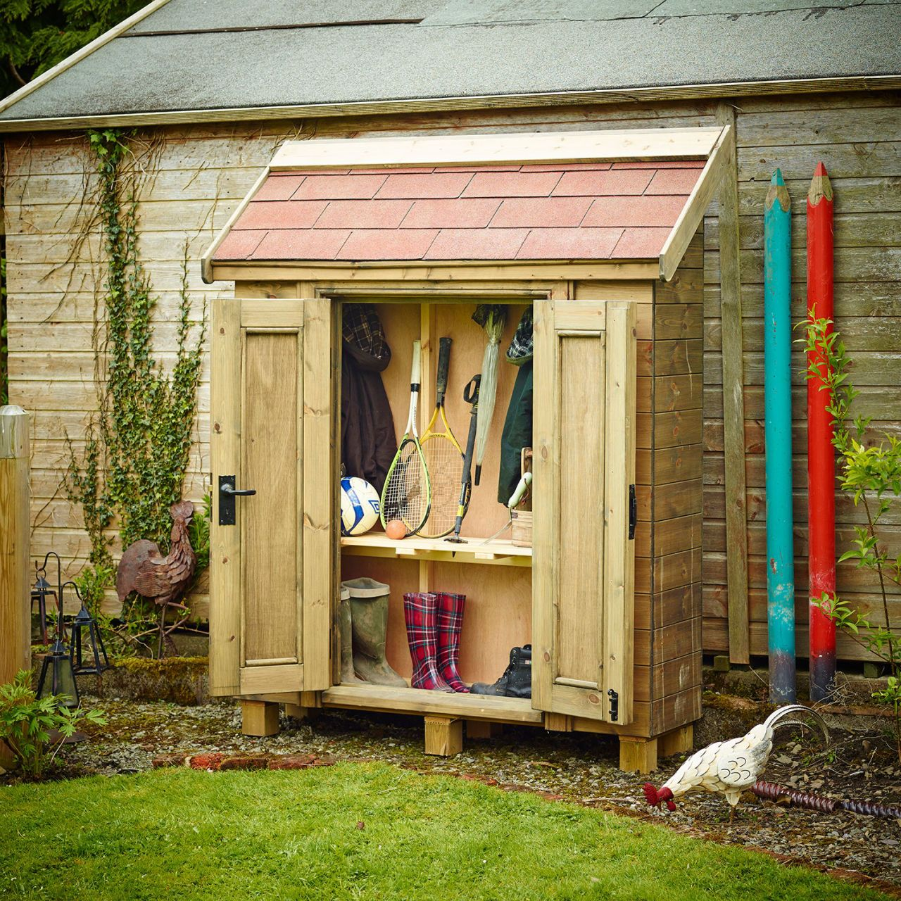 Outdoor Cupboard, The Posh Shed Company