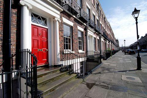British houses: Georgian property