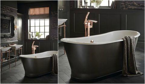 madeira bath from heritage bathrooms - Luxury Bathroom