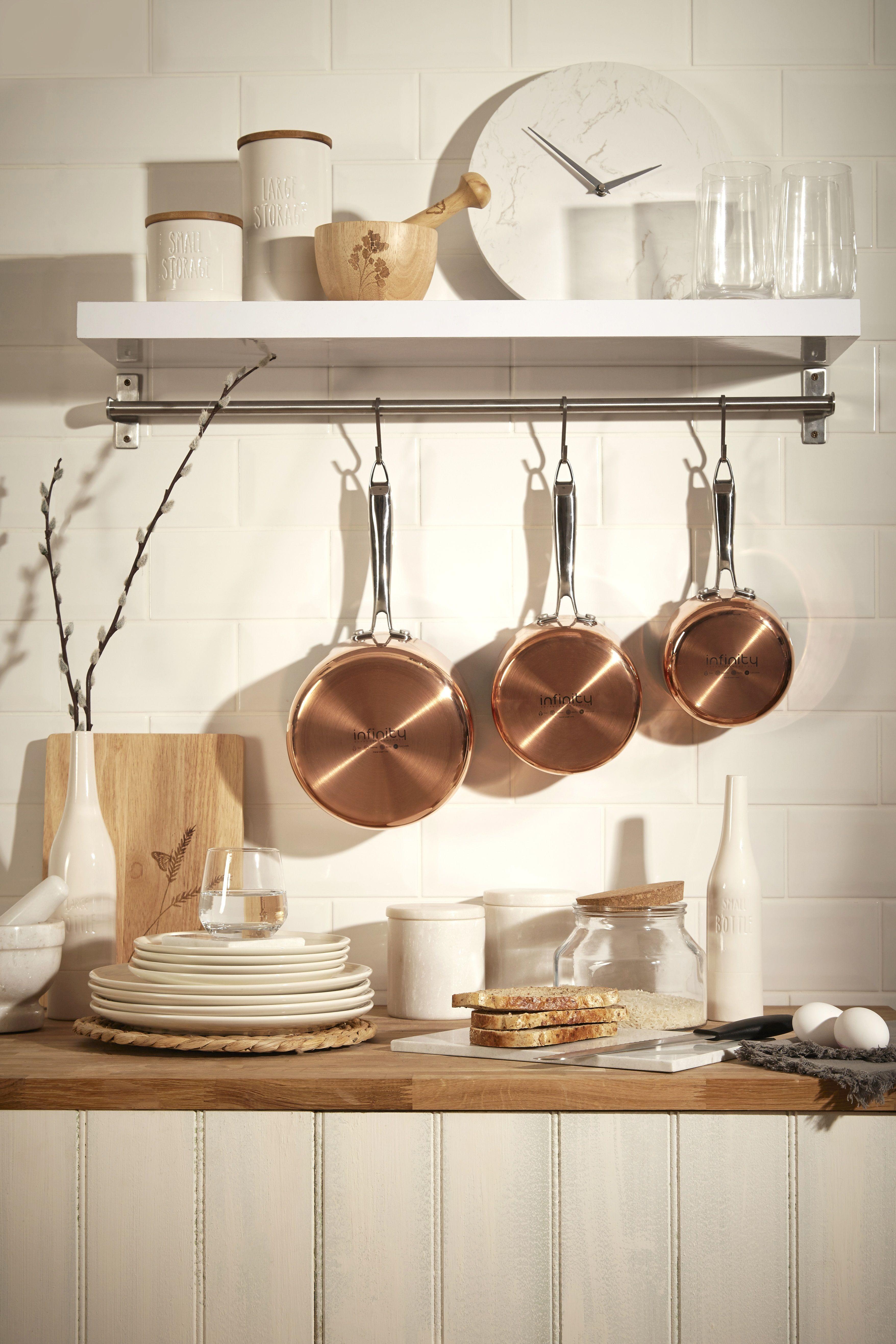 Home interiors - copper accents